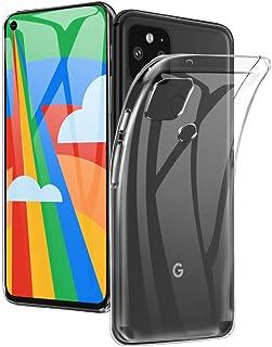 Google Pixel 5 ケース日本水準のTPU素材製 A-VIDET Google Pixel5カバー 薄型 軽量 耐衝撃 擦り傷防止Google Pixel 5 対応 (クリア)
