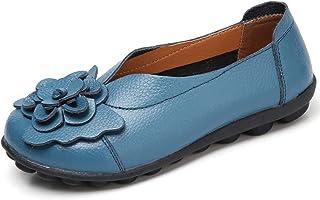 Gaatpot dam mokassins andas läder stövlar fritid loafers platt körning halvskor ärftskor skor tofflor