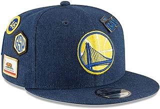 New Era Golden State Warriors 2018 NBA Draft 9FIFTY Snapback Adjustable Hat - Denim