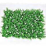 UOEIDOSB 40 CM * 60 CM Césped Artificial Planta Pared Hierba Falsa Planta Decorativa Pared Decoración al Aire Libre Hogar (Color : E)