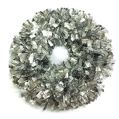 Brite Star Wreath Tinsel, Silver