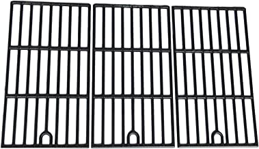 Hongso Matte Cast Iron Cooking Grid Replacement for Kenmore 148.16156210, 148.1637110, Master Forge 3218LT, 3218LTM/LTN, E3518-LP, L3218, Perfect Flame SLG2007D, 17 3/4
