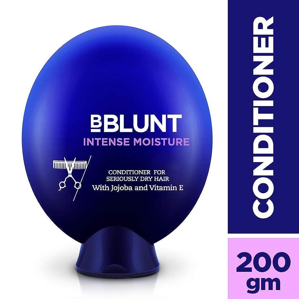 終了する甥虚弱Bblunt Intense Moisture Conditioner, 200g (Jojoba, Vitamin E, Hydrolyzed Keratin & Wheat Germ Oil)