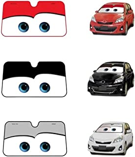 funny feng Car Windshield Sunshade Car Sunshade Car Cartoon Sunshade Universal Car Sunshade Car Solar Protection Foils Car Front Window Visor For Children Adults