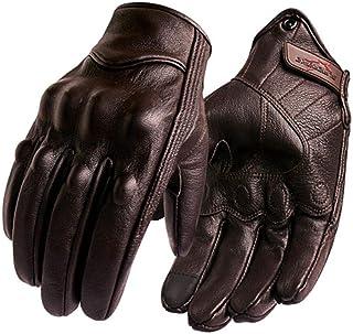 New Motorcycle Gloves Men Touch Screen Leather Electric Bike Glove Cycling Full Finger Motorbike Moto Bike Motocross Sale Gloves