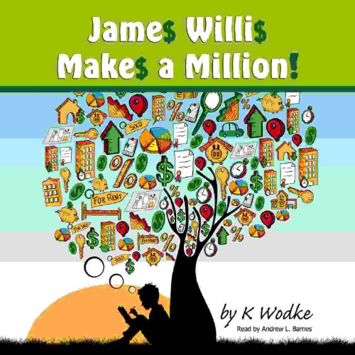 James Willis Makes a Million audiobook cover art