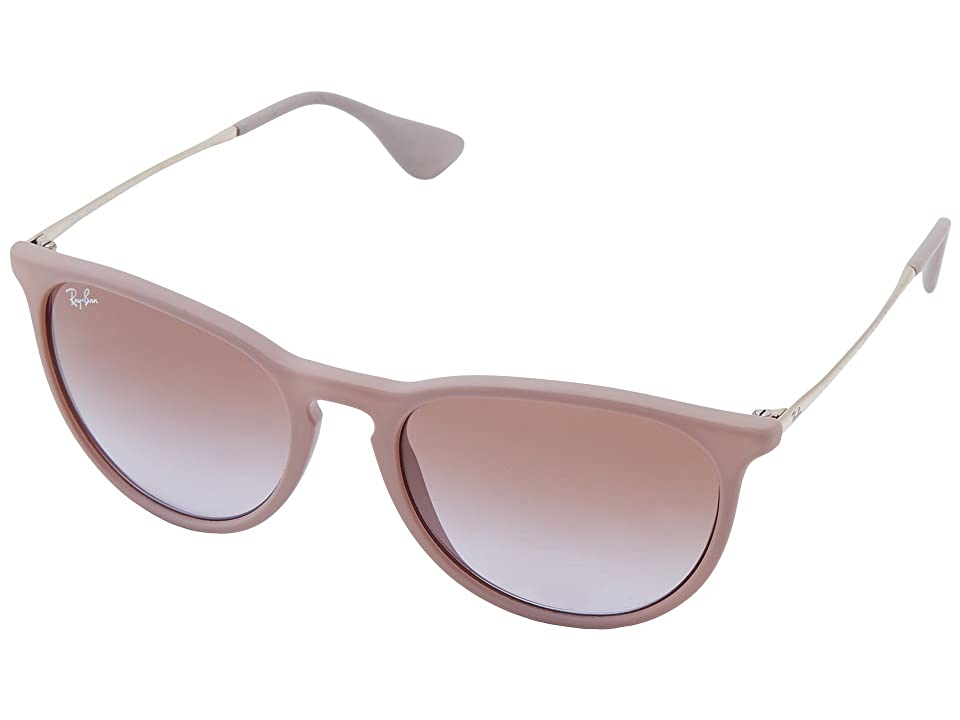 Ray-Ban Erika (Dark Rubber Sand) Plastic Frame Fashion Sunglasses