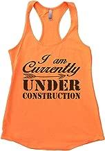 Funny Threadz Womens Flowy Im Currently Under Construction Yoga Tank Top