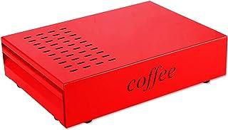 Caja de café con cajón de café