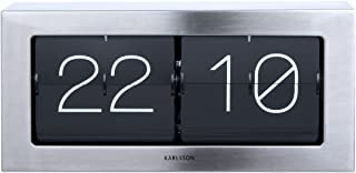 Karlsson Boxed Flip Clock (Steel)