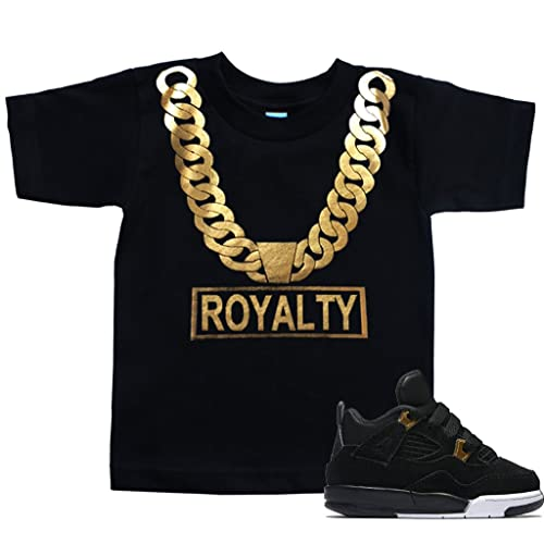 16b617d2483 FTD Apparel Toddler's Gold Chain Royalty T Shirt