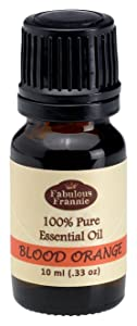 Blood Orange 100% Pure, Undiluted Essential Oil Therapeutic Grade - 10 ml. Great for Aromatherapy!
