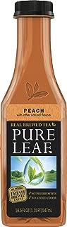 Lipton Pure Leaf Iced Tea, Peach, 18.5 oz