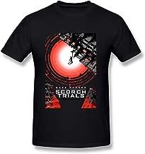Men's Maze Runner Scorch Trials Tshirt Brand New Black