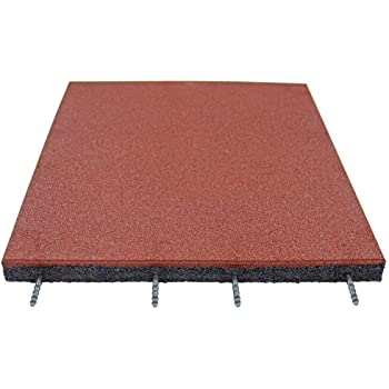 Resilia Inter Locking Tile Pad Gray Office or Work Out Floor Protection itPAD Heavy Duty for Garage 57 Inches Wide X 95 Inches Long Made in The USA