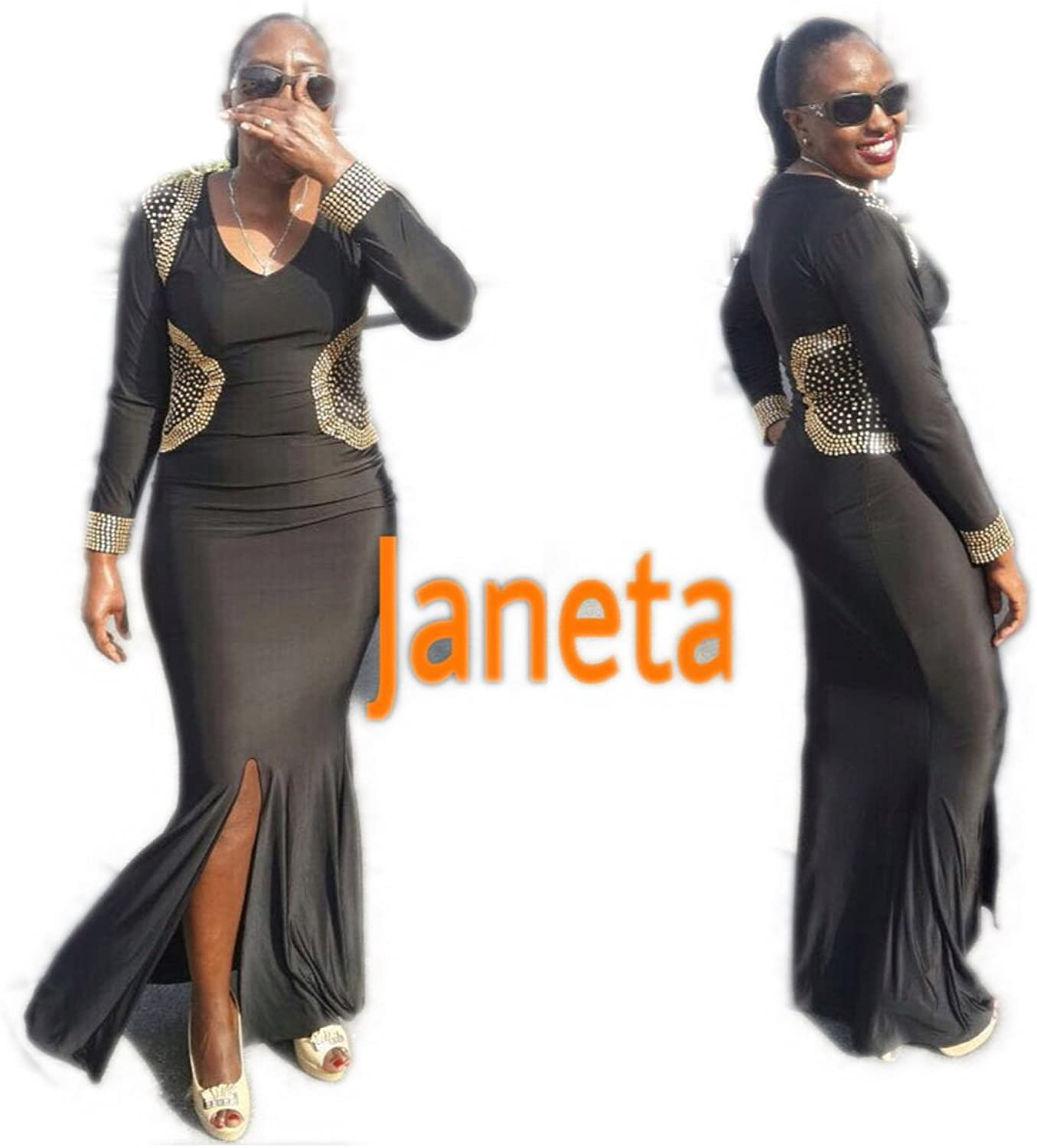 2018Spring Clearance 08  Janeta (Large, Black)