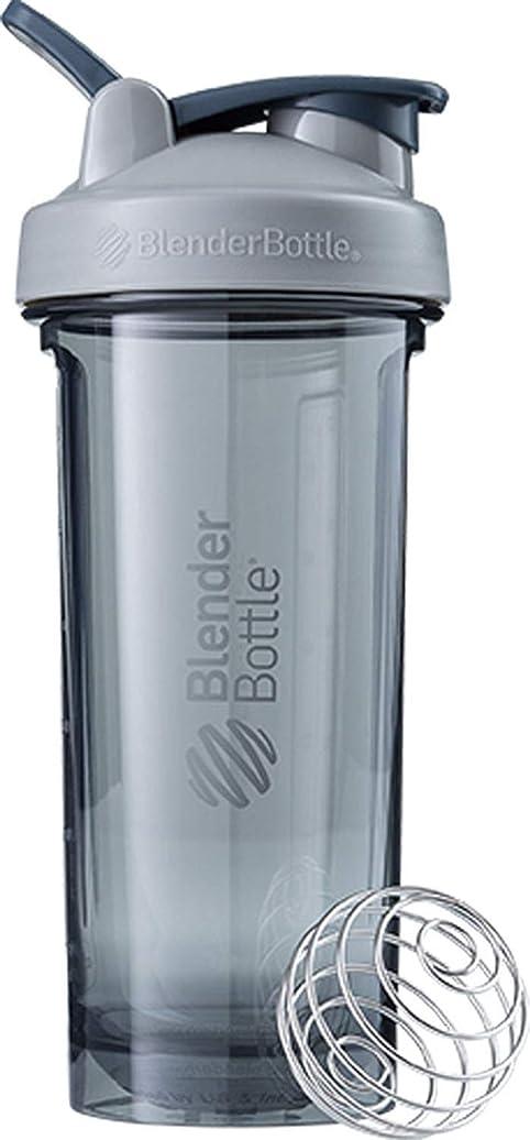 肌私の増強ブレンダーボトル 【日本正規品】 ミキサー シェーカー ボトル Pro Series Tritan Pro28 28オンス (800ml) ぺブルグレー BBPRO28 PG