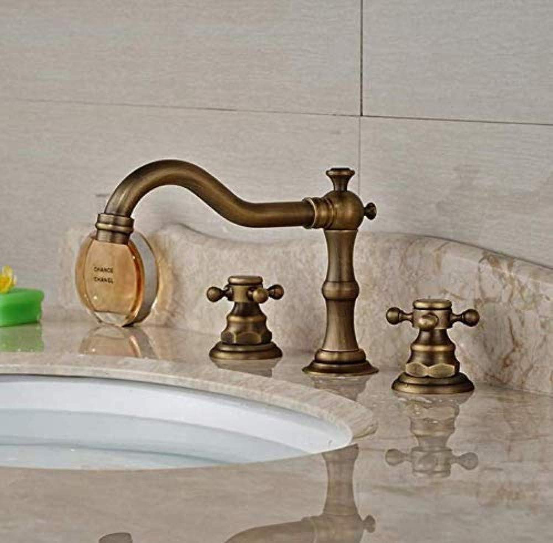 Sink Armaturen für Bathbrass Verbreitet - Bassin - Wannen - Hahn - Deck Berg zwei Griffe Badezimmer Mischbatterien