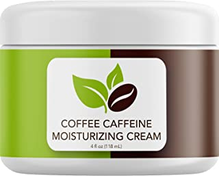 Rich Coconut Coffee Body Cream - Concealing Cellulite Cream and Hydrating Body Moisturizer for Dry Skin with Shea Butter -...