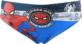 Characters Cartoons Spiderman Marvel Avengers – Bañador para niño – Pantalones cortos tipo boxer, parisés, playa, piscina,...