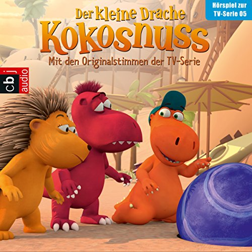 Der Glücksstein / Sicher ist sicher / Der Hornochse / Ein perfekter Ort (Der Kleine Drache Kokosnuss - Hörspiel zur Serie 5) audiobook cover art