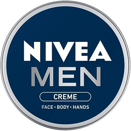 NIVEA Men Crème, Non Greasy Moisturizer, Cream for Face, Body & Hands, 75 ml