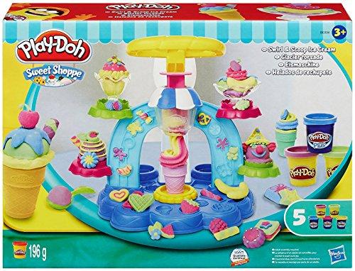 Play-Doh - Helados Locos, Juego Creativo (Hasbro B0306EU4)
