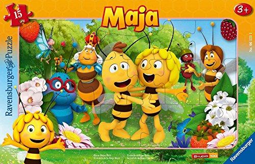 Ravensburger Kinderpuzzle 06121 - Biene Majas Welt - Rahmenpuzzle