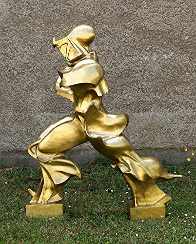 Kunst & Ambiente - Futuristische Bronzefigur - Einzigartige Formen der Kontinuität im Raum - Umberto Boccioni Skulptur - Der Futurist Boccioni Italien - Futurismus