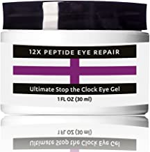 COLLAGEN Peptides EYE Cream Gel with Hyaluronic Acid and Organic Vitamin C