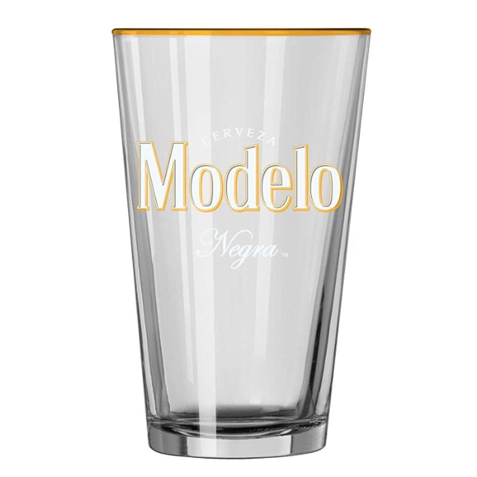 Modelo Negra Pint Glass
