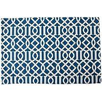 ランチョンマット 食卓 プレースマット ランチマット モダンミニマリストモダンジオメトリックブループレースマット絶縁パッドテーブルマットファブリック ランチョンマット SHANCL (Color : Monolithic-Blue, Size : 45cm*30cm)