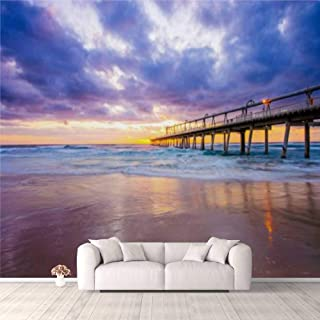 Modern 3D PVC Design Removable Wallpaper for Bedroom Living Room An aerial phoThe Sand Pumping Jetty at the Spit on the Go...