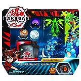 Bakugan Battle Pack Panda Azul, dragonoid EVO Verde, Fire Knight Blanco, minioso Negro y...
