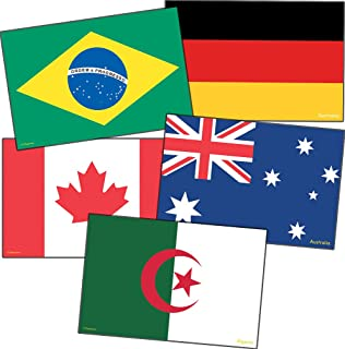 Edupress International Flags Accents (EP63238), 4 x 6 Inches