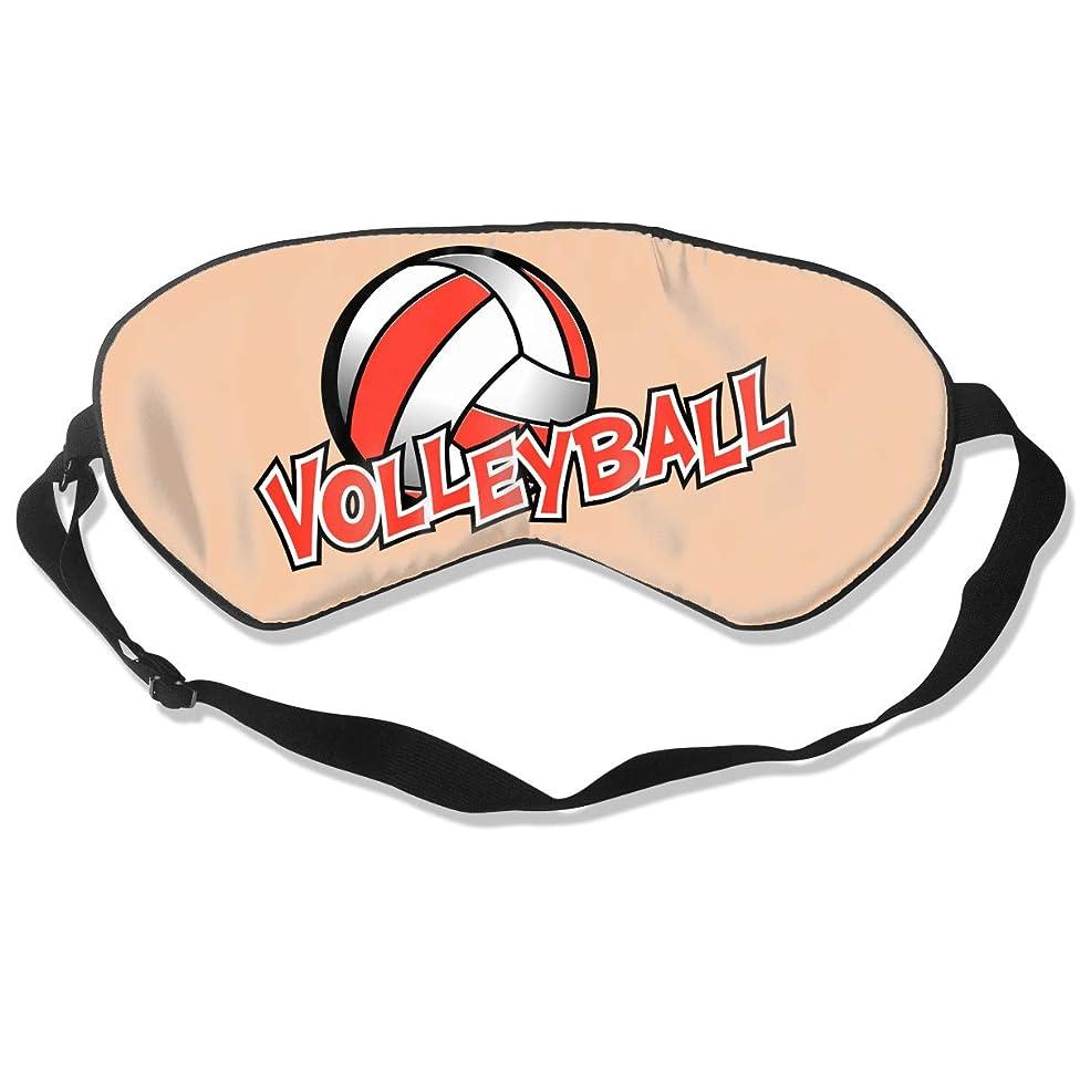 Sleep Mask Volleyball Eye Cover Blackout Eye Masks,Breathable Blindfold