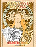 Alphonse Mucha Coloring Book: Alphonse Mucha Color To Relax Coloring Books For Kid And Adult A Perfect Gift