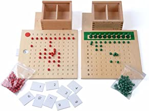 New Sky Enterprises Montessori Math Material Multiplication and Division Addition Subtraction (Multiplication and Division)