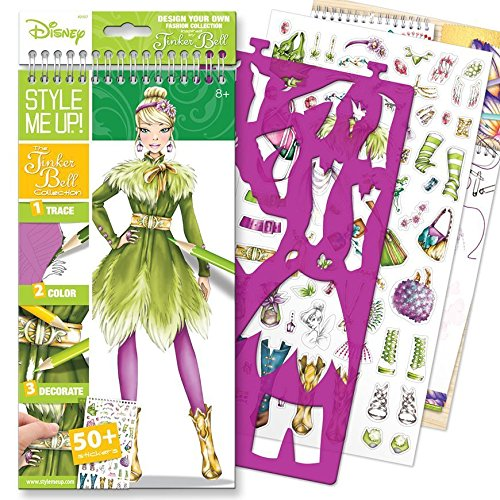 Style Me Up! The Tinker Bell Collection Small Sketchbook (English)