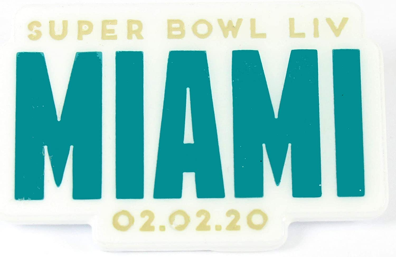 PSG NFL Super Bowl LIV Kansas City Mall Silver Small Popular popular Wordmark PIN