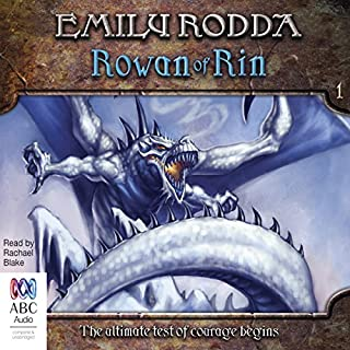 Rowan of Rin cover art
