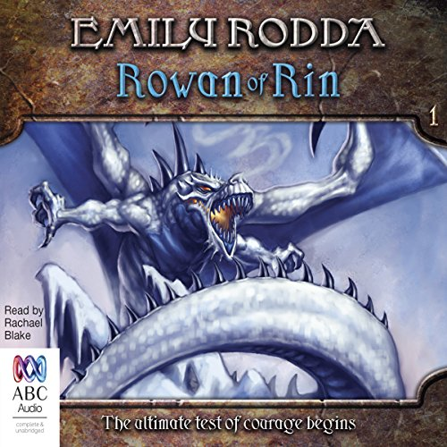 Rowan of Rin audiobook cover art