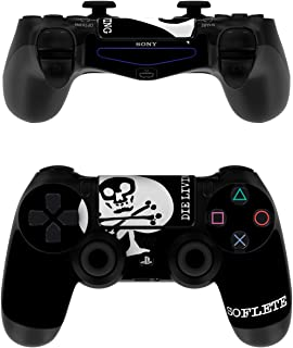 SOFLETE Die Living Crop - PS4 Controller Skin Sticker Decal Wrap (Controller NOT INCLUDED)