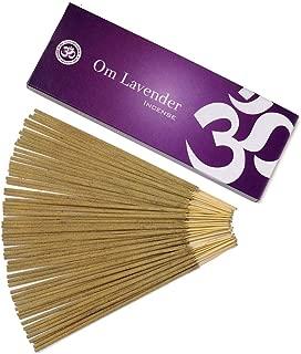 Om Incense Lavender 100% Natural Fragrance Incense Sticks 100 Grams