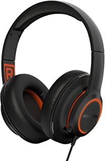 SteelSeries Siberia 150 Gaming Headset with RGB Illumination and DTS Headphone X 7.1 Virtual Surround Sound - Black (Renewed)