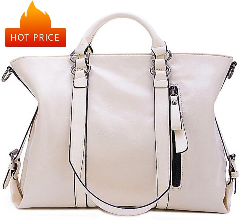 Big Capacity Women Shoulder Bags Sofe Leather Lady Tote BagsTop Handle Bag