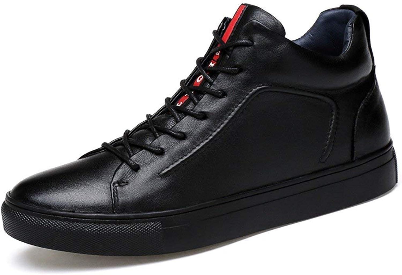 Qiusa Junge Männer rote Streifen gepolsterte Mode schwarz Chukka Ankle Stiefel UK 7.5 (Farbe   -, Größe   -)  | Outlet