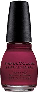 Sinful Colors Professional Nail Polish Enamel, Ruby Ruby [369] 0.50 oz (Pack of 3)
