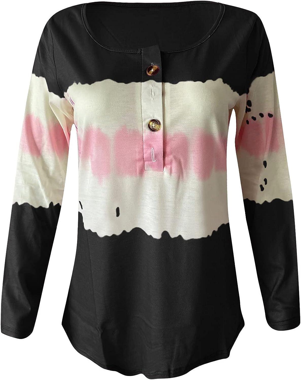 Women T-shirt Tops, Fashion Long Sleeve Pullover O-neck Printing Casual Blouse Tunics