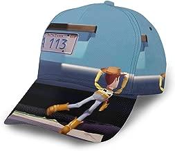 Unisex Vintage Baseball-Cap Twill Adjustable Relaxed Cap - Woody Car Black